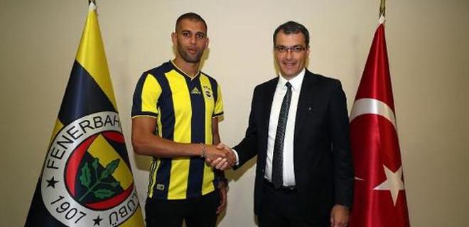 İslam Slimani Fenerbahçe formasını giydi!