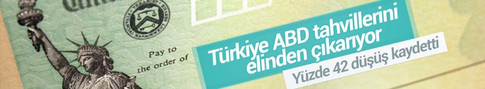 Türkiye, ABD tahvillerini elinden çıkarıyor