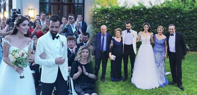 Yavuz Bingöl'ün kızı Türkü evlendi!