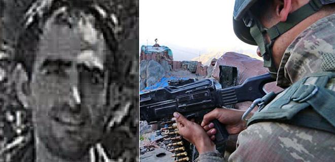 Et pişirirken öldürülen pkk'lı teröristin kimliği belirlendi