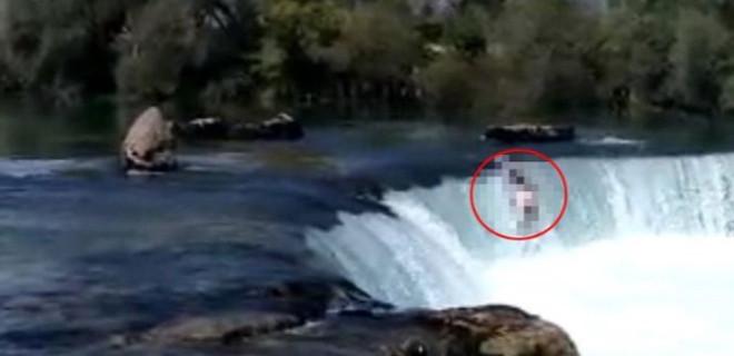Manavgat Irmağı'nda sulara kapılıp kayboldu