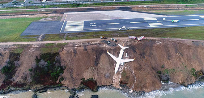 'Zeynep' isimli uçağın söküm işlemi 47 günde tamamlandı!