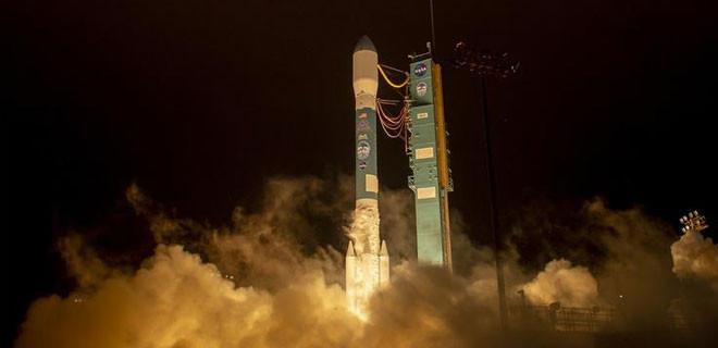 NASA ICES Sat-2 uydusunu uzaya fırlattı!