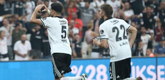 Beşiktaş Yeni Malatyaspor 2-1 mağlup etti!