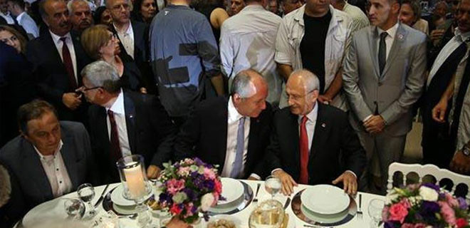 Kemal Kılıçdaroğlu ve Muharrem İnce nikahta bir araya geldi!