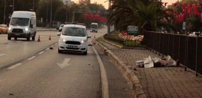 Fatih Vatan Caddesi'nde feci ölüm