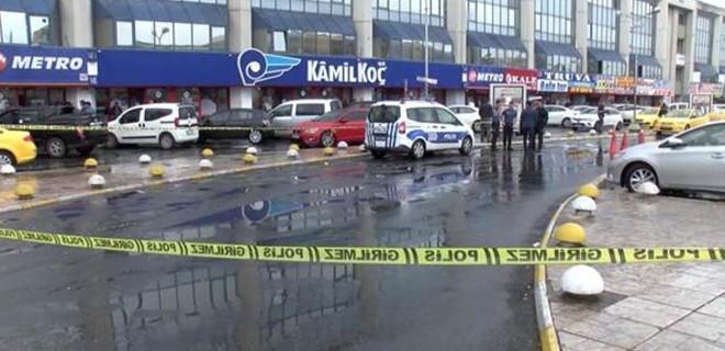 İstanbul otogarında silahlı kavga