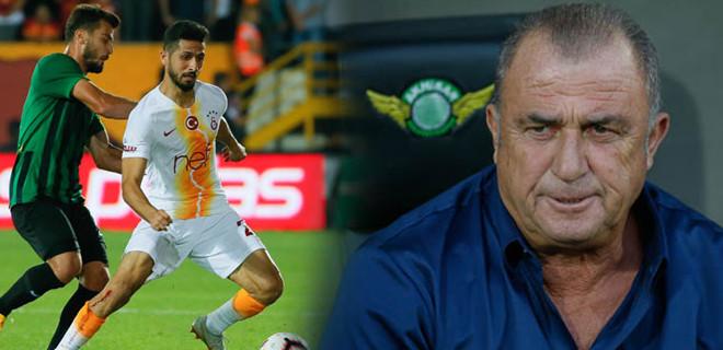 Galatasaray'da Fatih Terim acımadı!