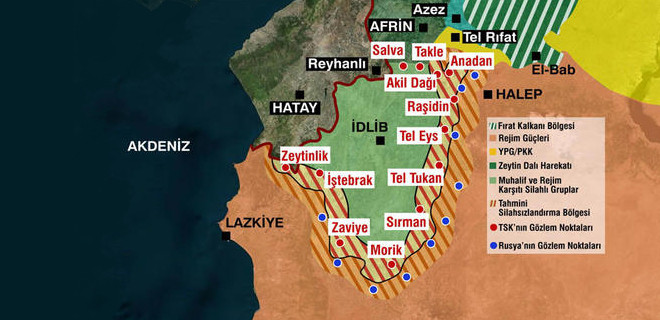 İdlib'te kim kiminle savaşıyor?