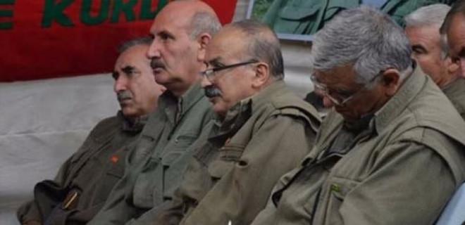 PKK elebaşları birbirine düştü