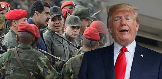 Trump'tan Maduro'ya darbe sinyali!