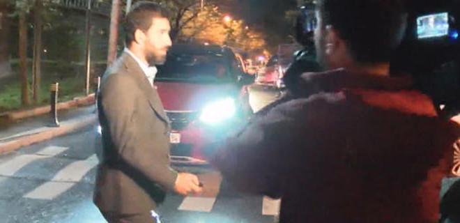 Arda Turan 3 saat süren ifadesinin ardından emniyetten ayrıldı