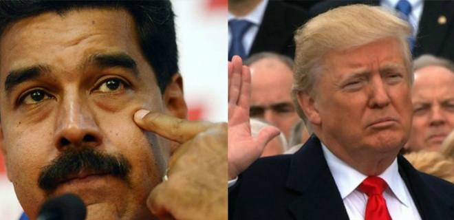 Maduro: ABD beni öldürmeye çalışıyor!