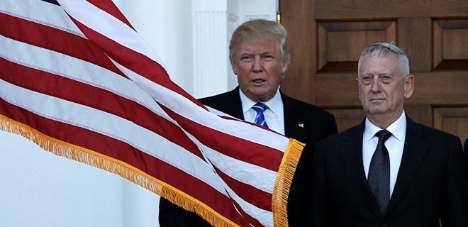 Trump: Sanırım Mattis biraz 'Demokrat'