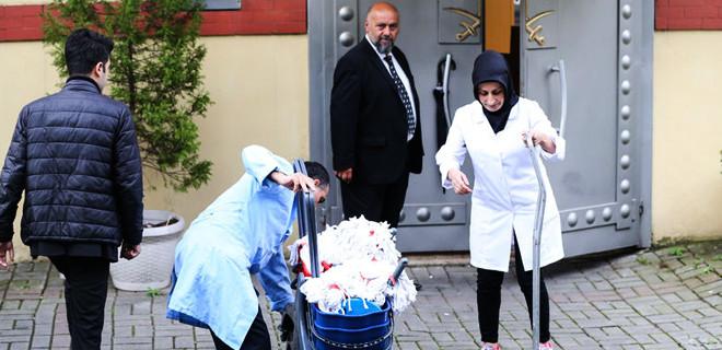 Türk polisi Suudi konsolosluğuna girdi...