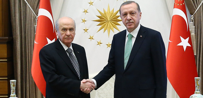 Erdoğan-Bahçeli görüşmesi yarın