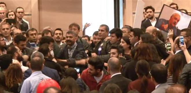 İstanbul Barosu seçiminde tekme tokat kavga