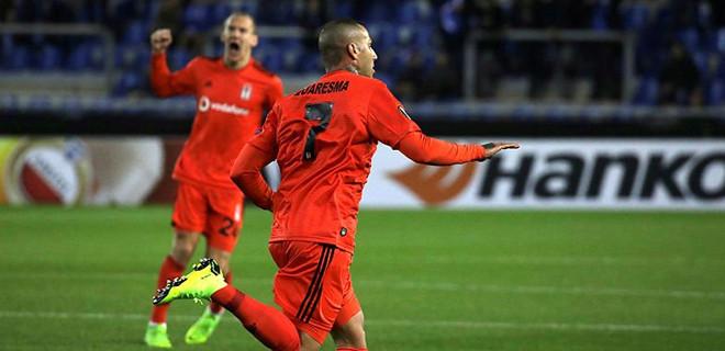 Beşiktaş, Belçika'da galibiyeti kaçırdı