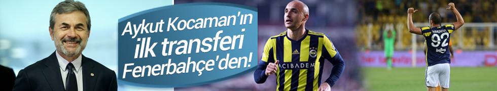 Aykut Kocaman'ın ilk transferi Fenerbahçe'den!