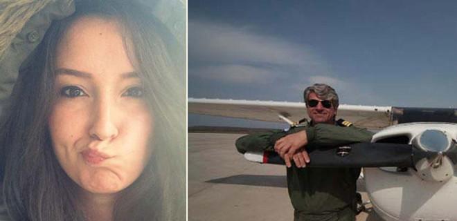 Denizli'de eğitim uçağı düştü!