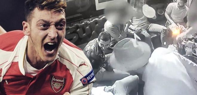 Mesut Özil'in uyuşturucu partisindeki görüntüleri olay oldu