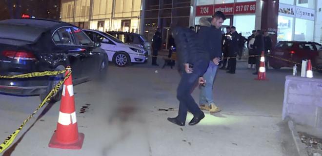 Ankara Çankaya'da silahlı saldırı!