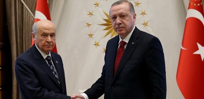 Erdoğan-Bahçeli görüşmesinin tarihi beli oldu…
