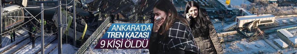 Son Dakika! Ankara'da Yüksek Hızlı Tren kazası!