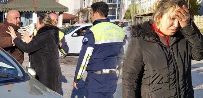 Polise direnince gözaltına alındı...