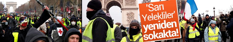 Paris'te sarı yeleklilerin gösterisi öncesinde gözaltılar başladı!