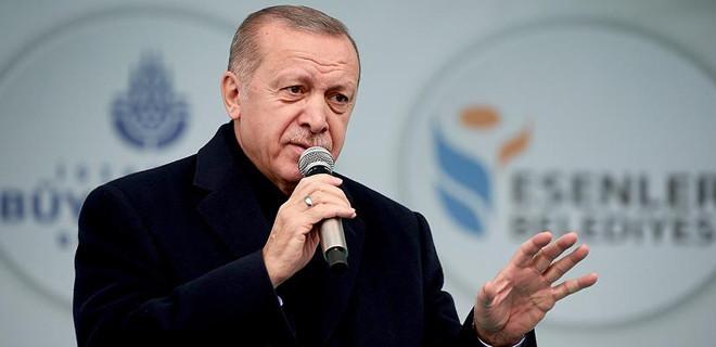 Erdoğan, Esenler'de konuştu…