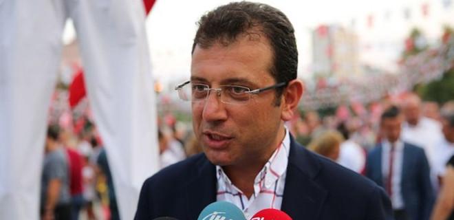 CHP'nin İstanbul adayı Ekrem İmamoğlu