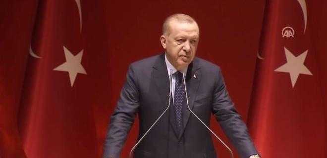 Erdoğan: Cumhurbaşkanlığı seçimlerinde seçim kurullarımızı tehdit eden adayı unutmuş değiliz
