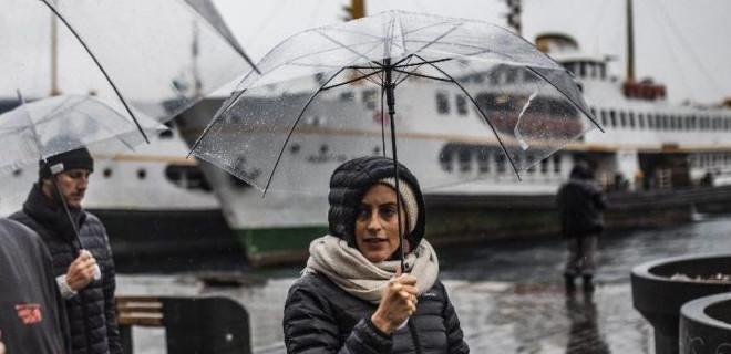 İstanbullular kuvvetli yağmura dikkat!
