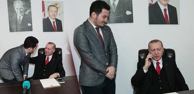 Erdoğan telefonda kız istedi