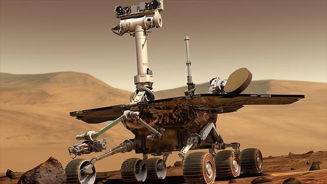 NASA Mars keşif aracı Opportunity'ye veda etti