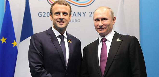 Putin ve Macron'dan kritik görüşme!