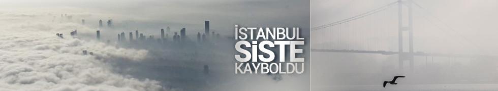 İstanbul siste kayboldu