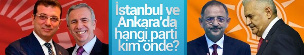 Yerel seçim son anket sonuçları! İstanbul ve Ankara'da hangi parti, kim önde?