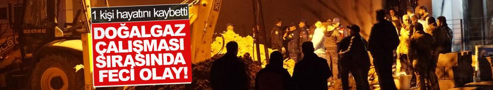 İstanbul'da göçük: 1 kişi hayatını kaybetti