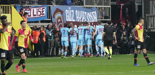Trabzonspor, Göztepe'yi deplasmanda yendi