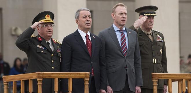 Savunma Bakanı Hulusi Akar ABD'de