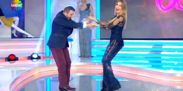 Mustafa Topaloğlu ve Ivana Sert'ten olay dans
