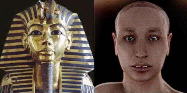 Tutankamon'un gerçek yüzü ortaya çıktı