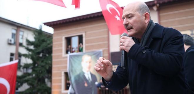 İçişleri Bakanı Süleyman Soylu: 'Akşener, Çiller ve Bahçeli'ye ihanet etti'