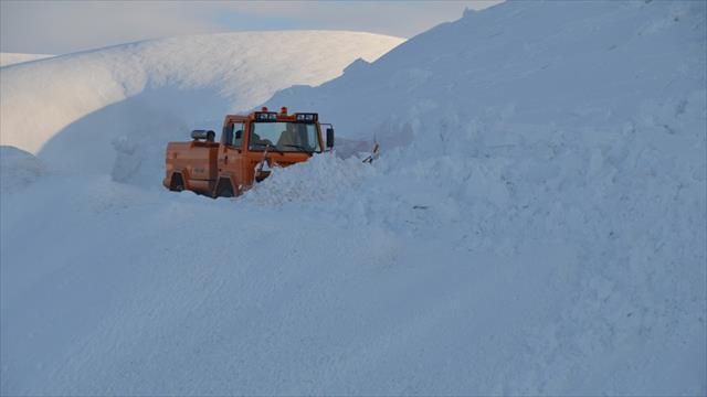 Doğuda 4 il için çığ ve kar uyarısı yapıldı