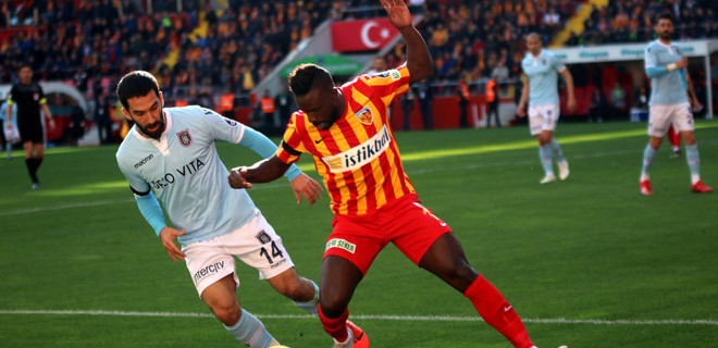 Başakşehir, Kayseri'de 2 puan bıraktı