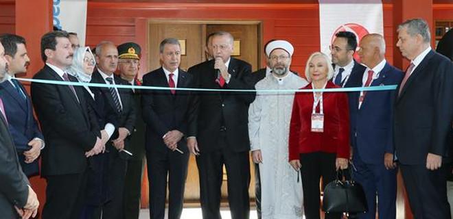 Cumhurbaşkanı Erdoğan açılışı yaptı!