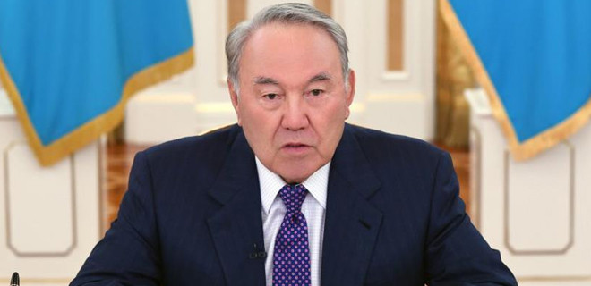 Kazakistan lideri Nursultan  Nazarbayev istifa etti!