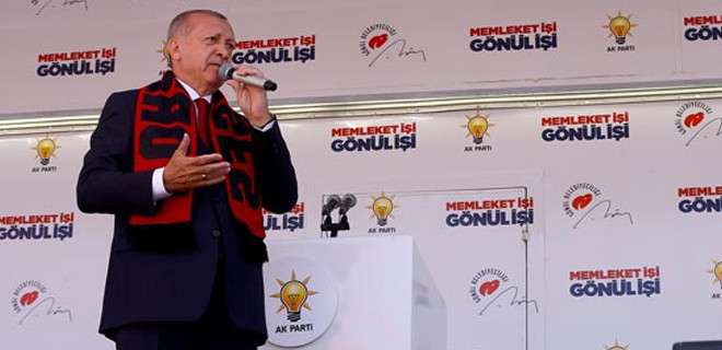 Erdoğan: CHP'ye gönül veren kardeşlerim yalancının peşinden gidiyor